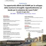 Locandina convegno FEAMP Vittoria 14-07-16